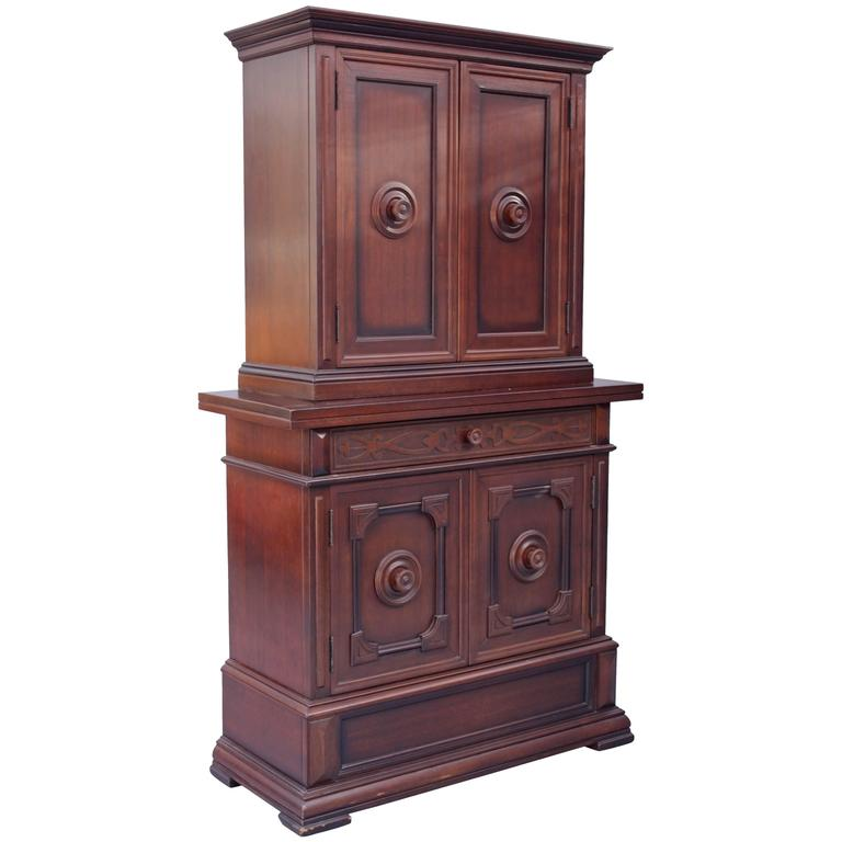 1920s Spanish Revival Standing Cabinet