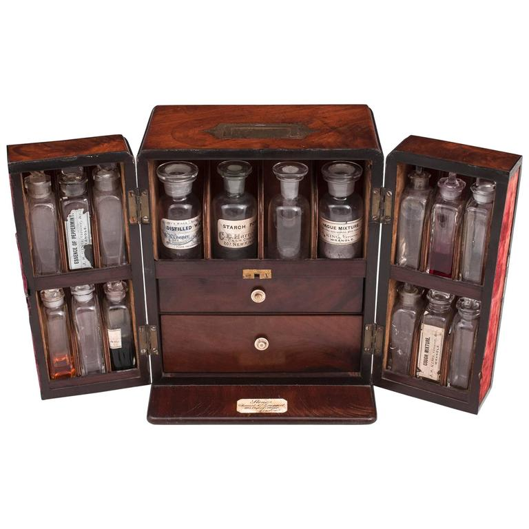 Antique Apothecary Box For Sale At 1stdibs