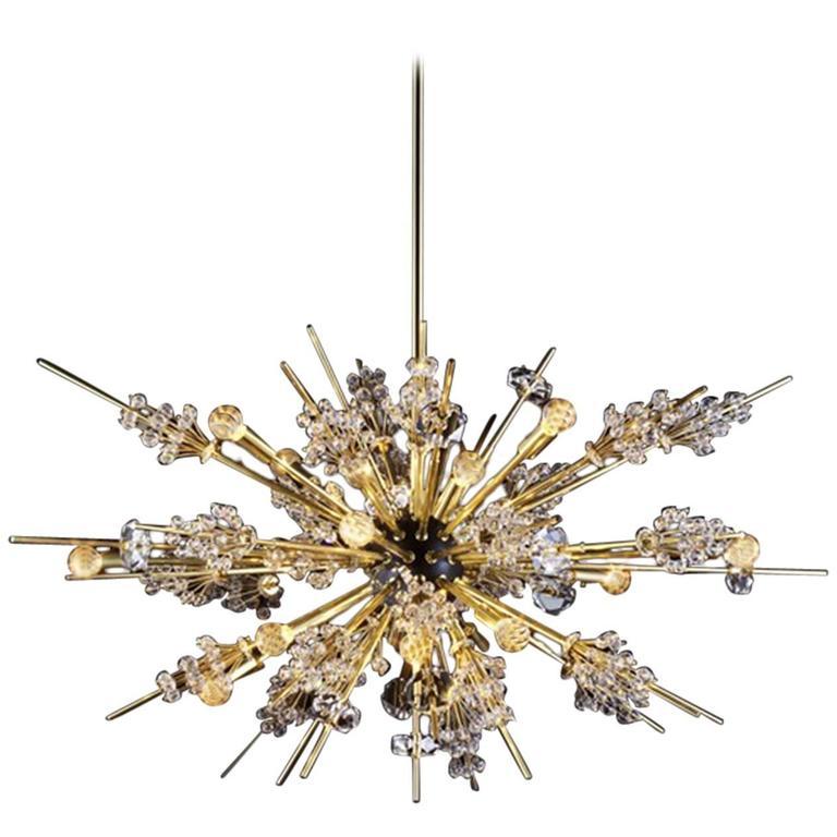 Lobmeyr metropolitan opera crystal chandelier auditorium l16 mid lobmeyr metropolitan opera crystal chandelier auditorium l16 mid century modern for sale aloadofball Image collections