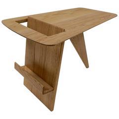 Fantastic Jens Risom Solid Oak Magazine Stand