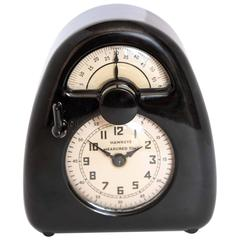 Isamu Noguchi Art Deco Bakelite Hawkeye Measured Time Clock / Timer