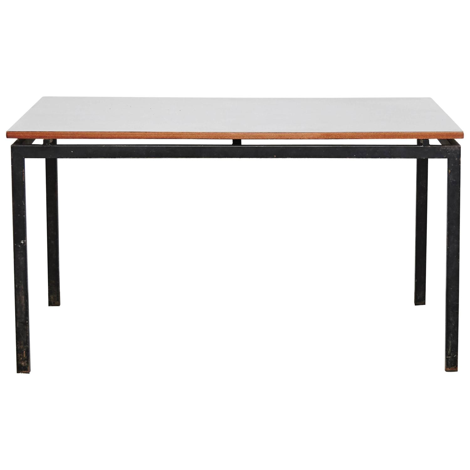 charlotte perriand cansado table circa 1950 for sale at 1stdibs. Black Bedroom Furniture Sets. Home Design Ideas