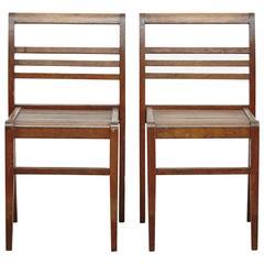 Rene Grabriel Chairs, circa 1940