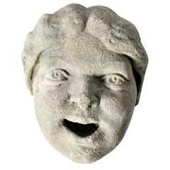 Stone Fragment of a Face