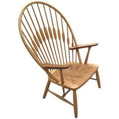 Hans J. Wegner Peacock Chair for Johannes Hansen