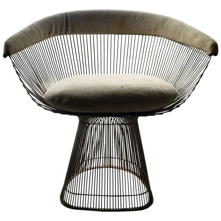 Warren Platner Dining Chair For Knoll At 1stdibs