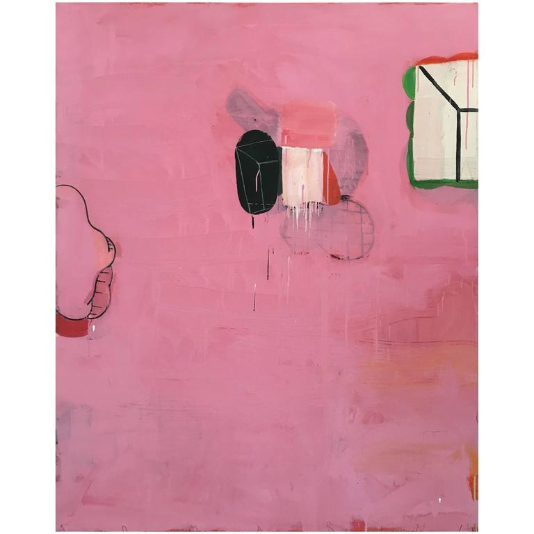 Big Pink, Peter's Hand's Path by Gary Komarin 2016