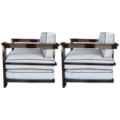 Pair of Josef Hoffmann Armchairs