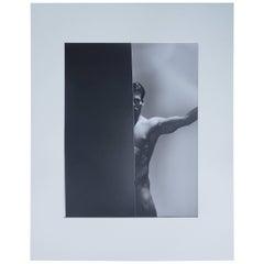 Original 20th Century Portrait of a Man, Silver Gelatin Photograph