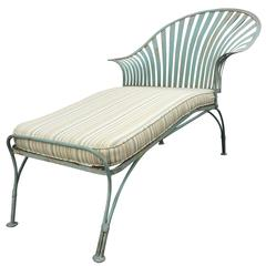 Mid-20th Century Spring Steel Chaise Lounge