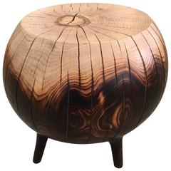 Mercury Hand, Sculpted Side Table in Ombre
