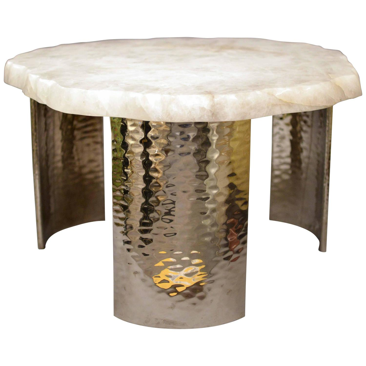Cloud Rock Crystal Cocktail Table For Sale At 1stdibs