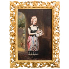 Antique Oil Painting John Horsburgh, 1881