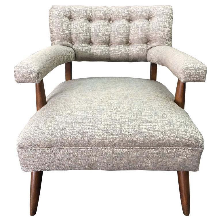 super cool mid century modern danish club chair at 1stdibs