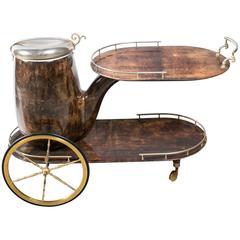 Aldo Tura Serving Cart