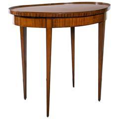 19th Century Adams Style Oval Table