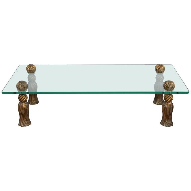 Arthur Court Tassel Coffee Table