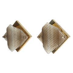 Pair of Sconces by Doria Lighting Company