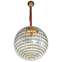 Targetti 1970s Globe Pendant Light