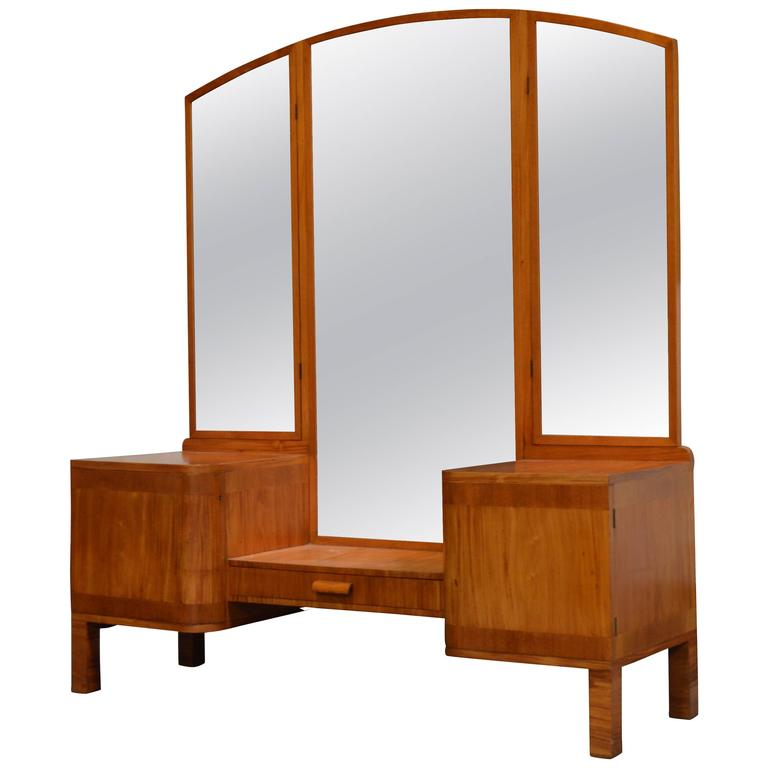 Swedish Art Deco Dressing Table Vanity