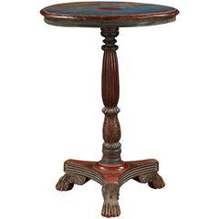 19th Century Goan Painted Table