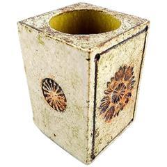 Roger Capron Vallauris, French Vase in Ceramics, Mid-20 Century