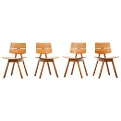 Set of Four Willy Guhl Chairs