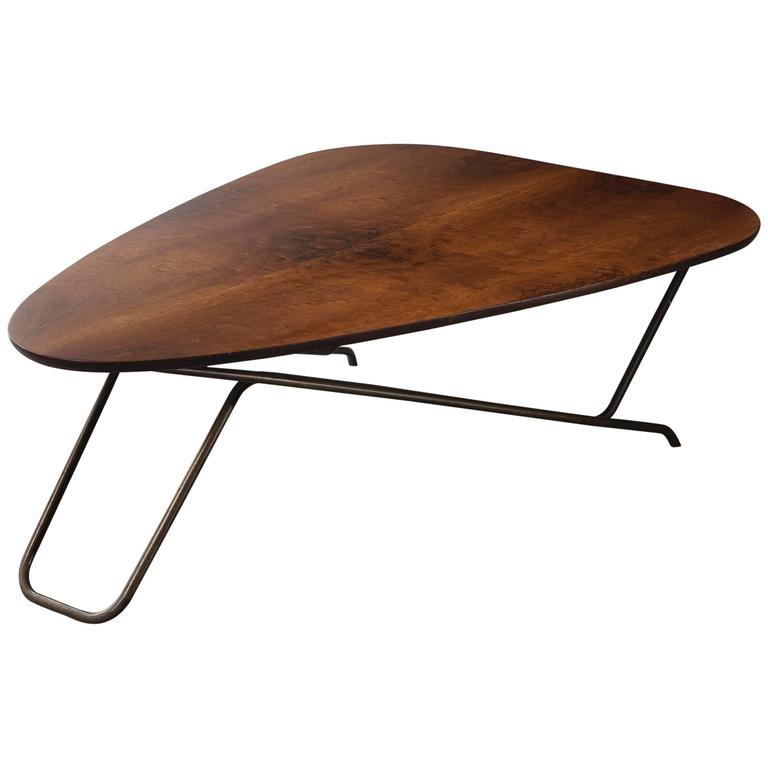 Wood Coffee Table by Greta Magnusson Grossman, USA, 1952 For Sale