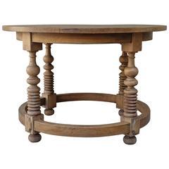 Italian Walnut Center Table, circa 1930