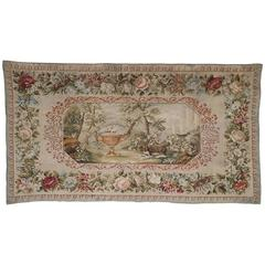 19th Century European Needlepoint Tapestry