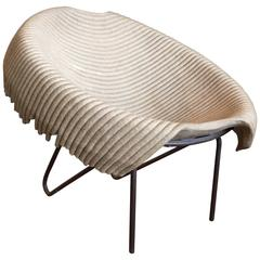 'Recycled' Tub Chair by Domingos Totora