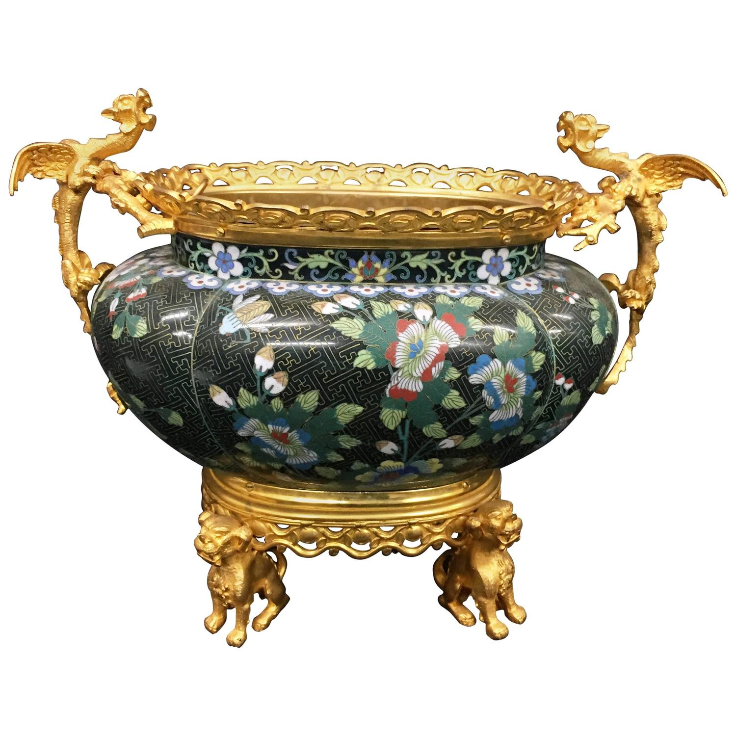 French jardiniere 19th century for sale at 1stdibs for Jardiniere decorative