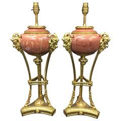 Pair Classical Antique Lamps