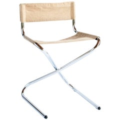 1960s, Very Rare Model Z Folding Chair by Erik Magnussen for Torben Orskov