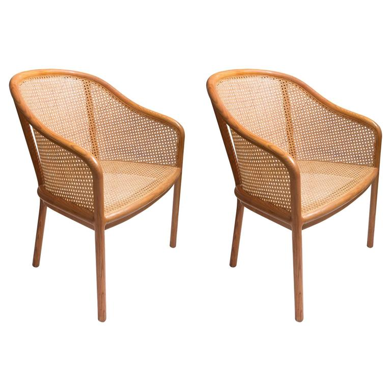 Pair of Ward Bennett Chair 1