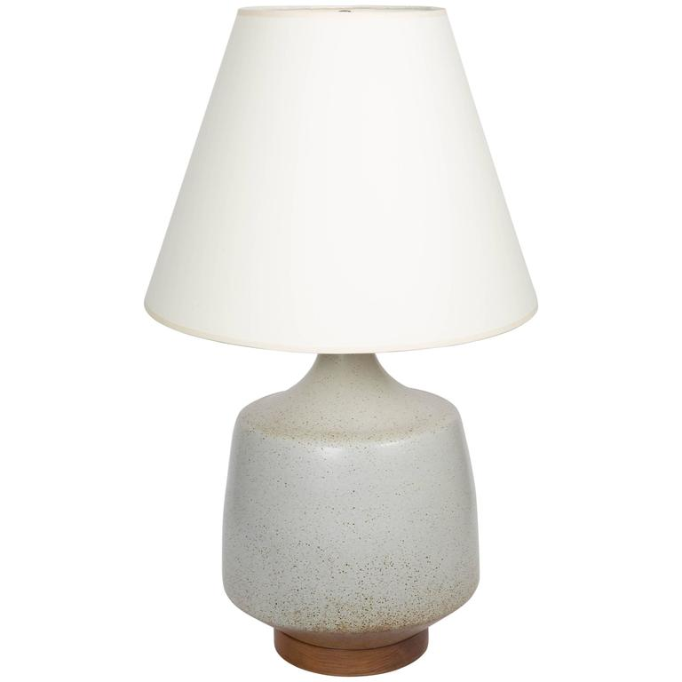Mid-Century Ceramic Table Lamp by David Cressey, circa 1970s For Sale