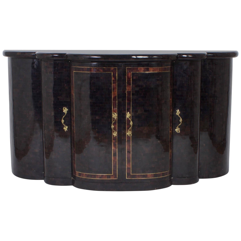 Maitland Smith Vintage Penshell Sideboard For Sale At 1stdibs