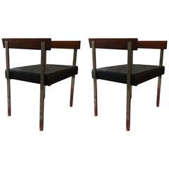 Pair of Harvey Probber Armchairs