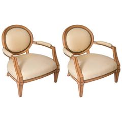 Brunschwig and Fils Upholstered Chairs