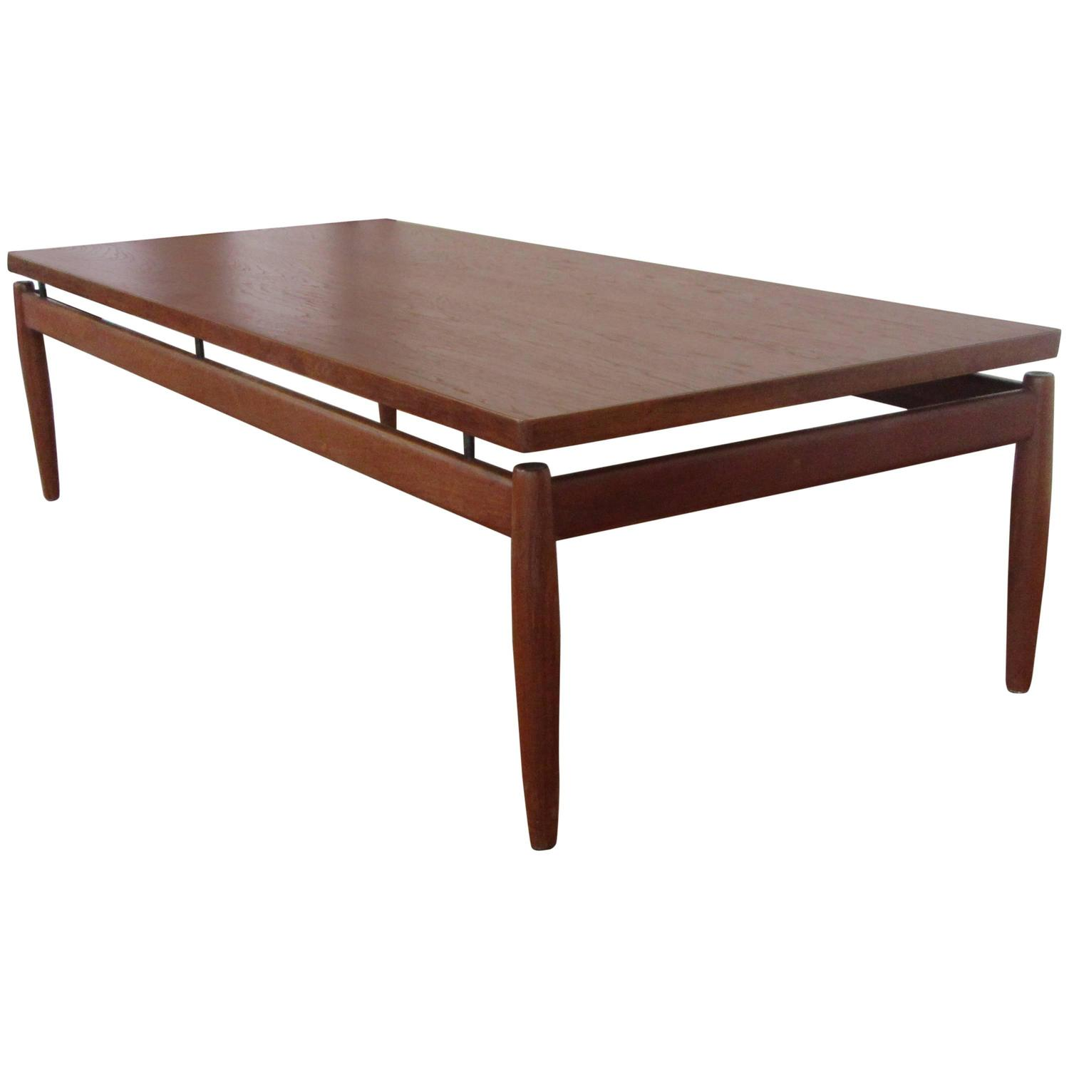 Greta Jalk Teak Coffee Table by France and Son at 1stdibs