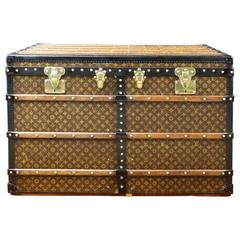 1920s Louis Vuitton Monogram Shirt Trunk