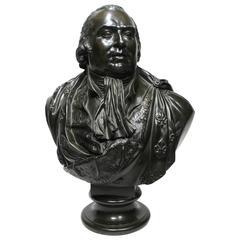 Attributed to Baron François-Joseph Bosio Bronze Bust of King Louis XVIII