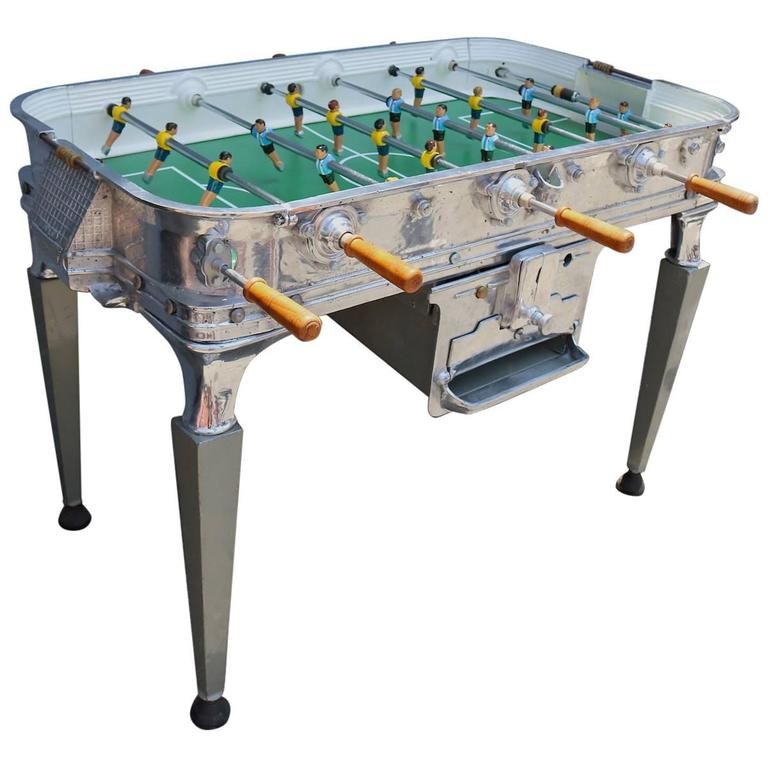 Vintage 1960s Super Estadio Foosball Table For