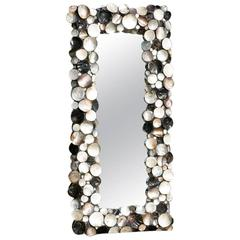 Stunning full height Mother-of-Pearl mirror