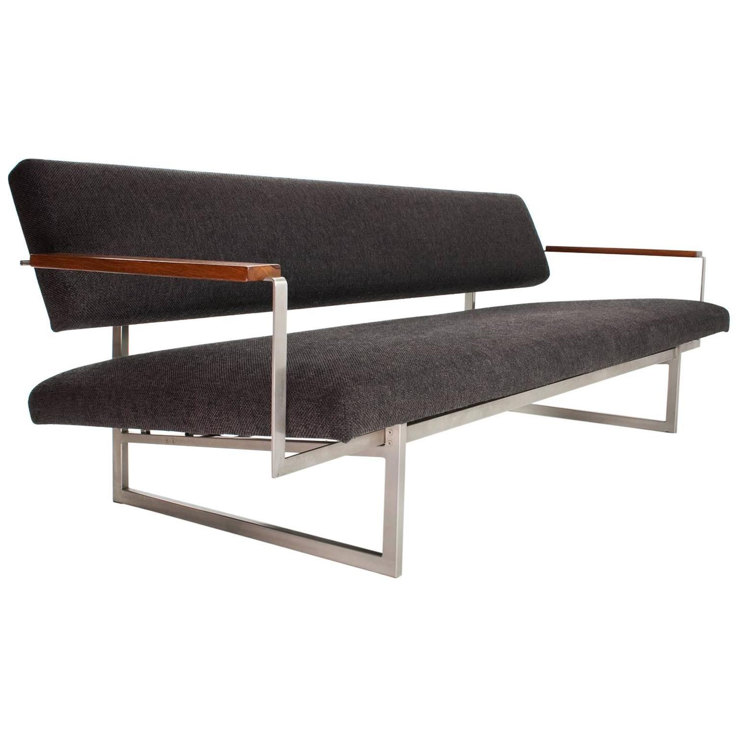 1960s industrial rob parry sofa or daybed lotus 25 model for Sofa industrial