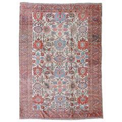 Antique North West Persian Bakshayesh Carpet, 19th Century