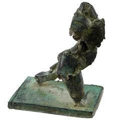 Henry Neuman, Brutalist Bronze Sculpture, USA, 20th Century