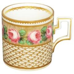 Italian Gilt Porcelain Cup
