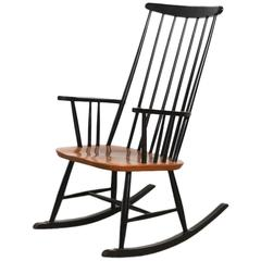 Modern Scandinavian Rocking Chair