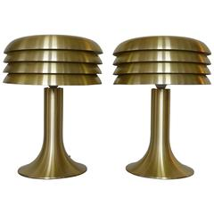 Pair of Hans-Agne Jakobsson Table Lamps